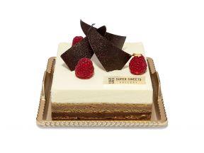SUPER SWEETS GALLERY Yuzu Marron Mousse Cake (12cm) (1 pc)