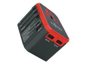 Fujitsu 4 Ports Travel Adapter TA100-PD (1 pc)