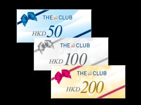 The Club e-Cash Voucher