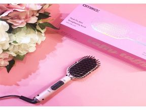 Amika Flash Fix Mini Straightening Brush (1pc)