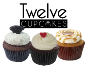 Twelve Cupcakes - 3 pieces of regular flavor cupcakes in box set (1 box)