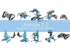 Ultimate 2.0 The 10-in-1 STEM Educational Robot Kit (1pc)