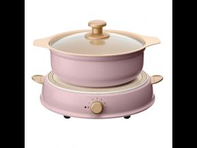 IRIS OHYAMA Ricopa IH Pot (1 pc) (Legitimately-Imported Goods)