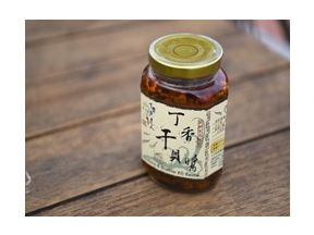 R Home - Clove fish and dried scallop X.O. sauce 400g (1 bottle) [Free dragon fruit noodles 1 box]