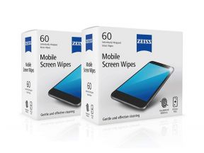 Zeiss Mobile Screen Wipes (120 pcs)