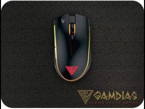 GAMDIAS Zeus E2 Essential Mouse with Mouse Pad (1 set)