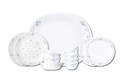 Corelle 12pcs Dinnerware Set (Privincial blue) (1set)