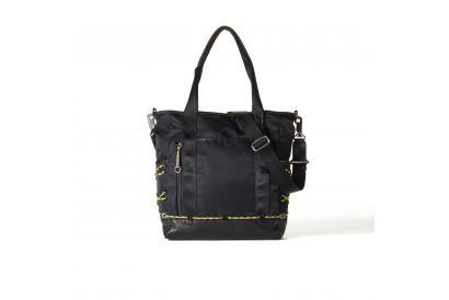 Tough Nylon Tote Bag - Black (1pc)