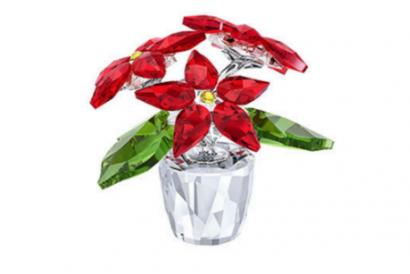 Swarovski Christmas Flower (Small) (1pc)