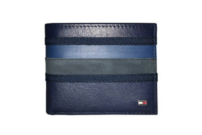 Tommy Hilfiger Ethan Gent Wallet (Navy) (1pc)