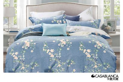 [Chinese New Year] Casablanca - 780 Thread Counts Cotton Bed Set #CB411 (1set)