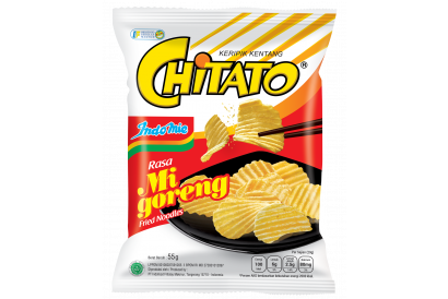 Chitato Potato Chips - Indomie Goreng (55g) (4packs)
