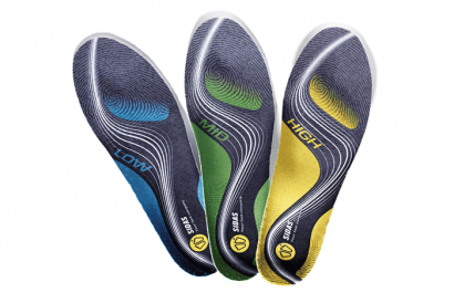 SIDAS 3Feet Insoles (Include valued HK$300 - Static postural foot weight distribution analysis)
