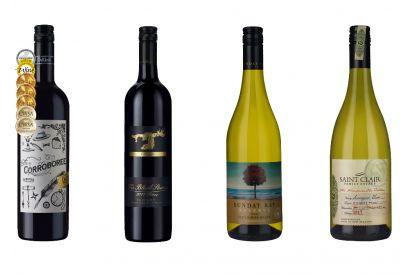 4-bottle Australian Reds & New Zealand Whites (1 set)