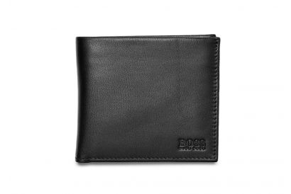 Hugo Boss Menswear Trento Leather Wallet-Black (1pc)