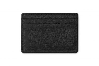Hugo Boss Men Card Holder in Grained Leather (1 pc)