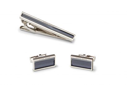 Hugo Boss Cufflinks Tie Clip Gift Set (1set)