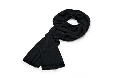 Hugo Boss Men Knitted Scarf in Virgin Wool (1 pc)