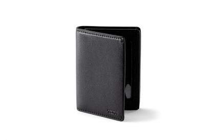 TUMI Nassau SLG Gusseted card case (Black) (1pc)