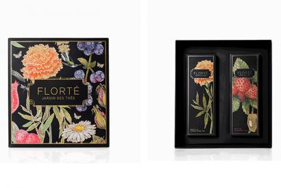 Dahlia Gift Set with 2 teas (1 Box)