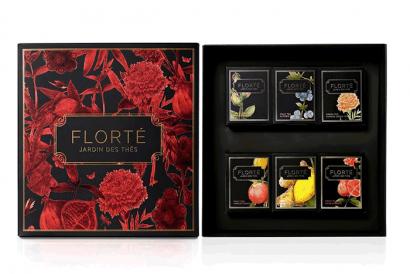 Dahlia Gift Set with 6 discovery teas (1 Box)