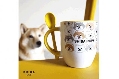 HKTDC Design Gallery - SHIBAinc Mug with Spoon (1pc)
