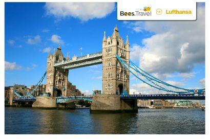 Lufthansa - 1 Round Trip Air Ticket (Hong Kong – London)