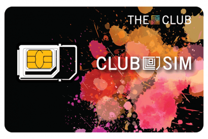 Club SIM - Free Welcome Pack (1pc) (worth over than HK$700)