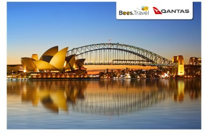 Qantas - 1 Round Trip Air Ticket (Hong Kong – Sydney)
