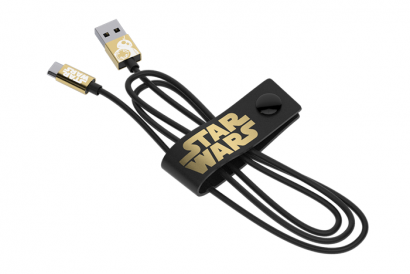 TRIBE STAR WARS CABLE MICRO USB CABLE 120CM BB8 (Gold) (1pc)
