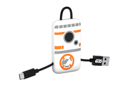 TRIBE STAR WARS CABLE MICRO USB KEYLINE 22CM CABLE (BB8) (1pc)