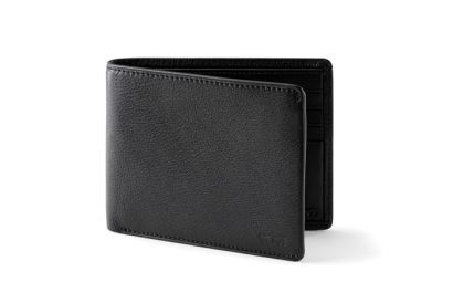 TUMI Nassau SLG Global Double Billford Wallet (Black) (1pc)