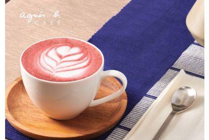 agnès b. CAFÉ Pink Beet Latte (1 pc)
