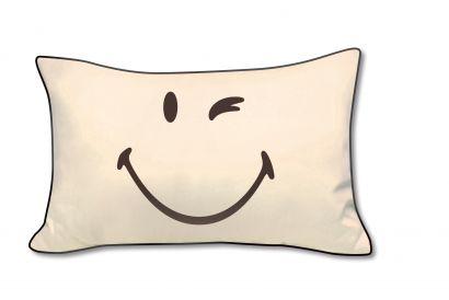 SMILEY Cotton Pillow Case (2 pieces)