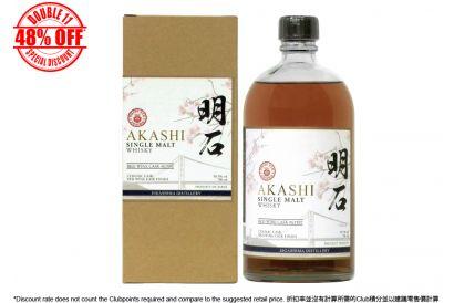 [11.11] Akashi Single Malt RED WINE CASK (1 bottle)