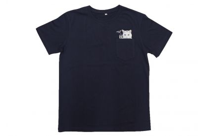 "SPCA ""Always be with you"" T-shirt (Dark Blue) (1pc)"