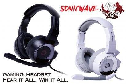AVerMedia SonicWave GH335 Gaming Headset - Expertly-tuned acoustics for gaming (1pc)