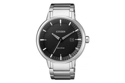 Citizen Eco Drive Stainless Steel Gent Watch (1pc)