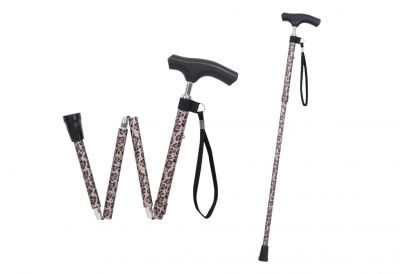 Silver Solutions Foldable Walking Cane (1pc)