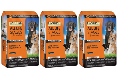 CANIDAE Lamb Meal & Rice for dog 5 Lbs (3 bags)