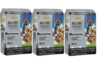 CANIDAE Platinum for dog 5 Lbs (3 bags)