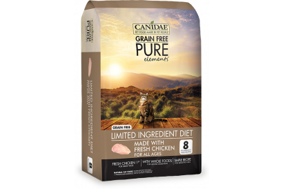 CANIDAE PURE Elements with Fresh Chicken for cat 10 LBS (1 bag)