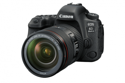 Canon EOS 6D Mark II with EF 24-105mm f/4L IS USM kit set (1pc)