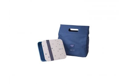 agnèsb.Starry Night Lunch Box with Pouch (1 pc)