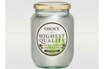 OSOS'S Extra Virgin Coconut Oil - Cold Press (1pc)