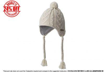 [11.11] Columbia Parallel Peak II Peruvian Omni-Heat Hat (Chalk) (1pc)