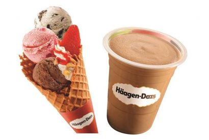 Häagen-Dazs™ Frutti Combo (one Milkshake and one Triple Frutti) Gift Voucher (1 pc) (Take Away Only)