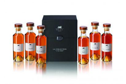 Cognac Deau - Box Set of 6 Selections (VS, VSOP, Napoleon, XO, Black, Louis Memory) (1 set)