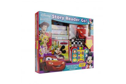 Disney Electronic Reader and 8 Book Library: Story Reader Go (1 pc)