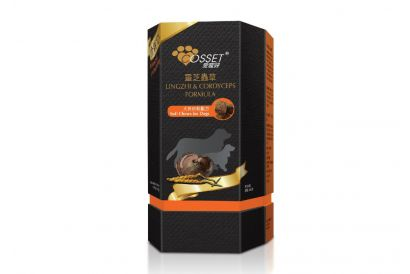 Cosset Lingzhi & Cordyceps Formula Soft Chews for Dogs (160's) (1 box)
